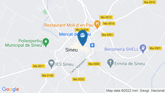 Hotel Son Cleda Map