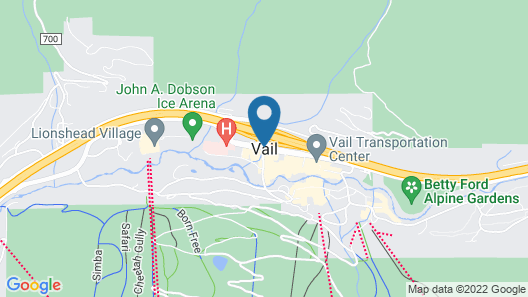 Four Seasons Resort Vail Map