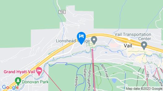 Vail Marriott Mountain Resort Map