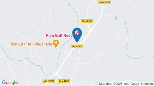 Pula Suites Boutique Resort Map