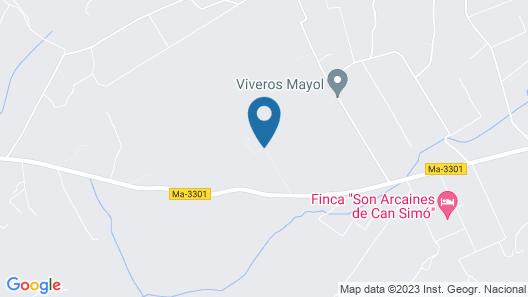 Caseta Rural Map