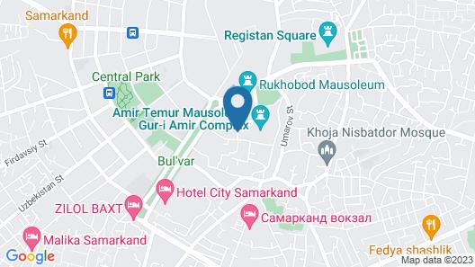 L'Argamak Hotel Map