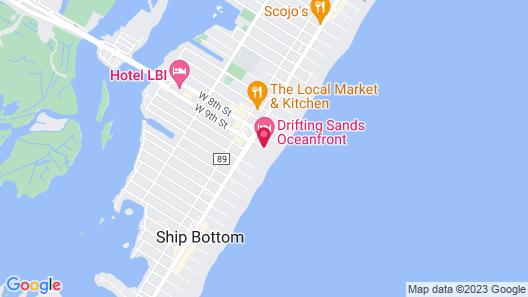 Drifting Sands Oceanfront Hotel Map