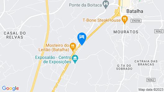 Monte do Mosteiro CountryHouse Map