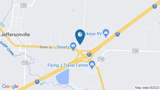 Quality Inn Washington Court House Map