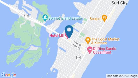 Hotel LBI Map