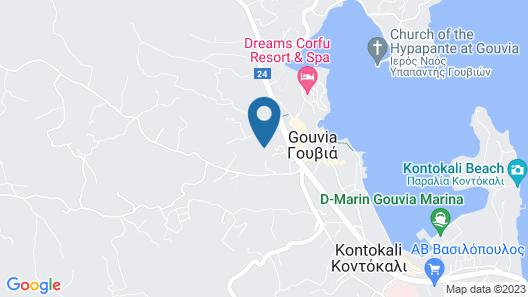 Palapart Gikas Gouvia Map