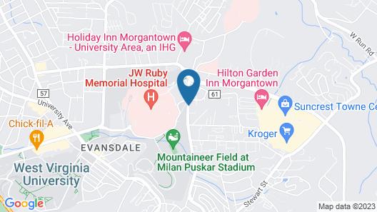 Residence Inn by Marriott Morgantown Map