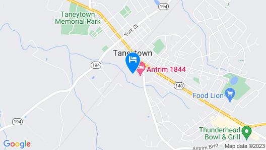 Antrim 1844 Map