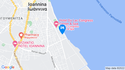 Akti Hotel Ioannina Map
