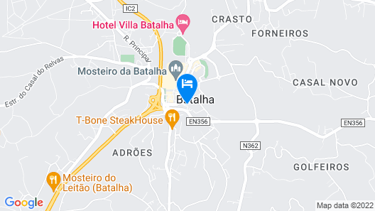 Casa do Outeiro - Arts and Crafts Boutique Hotel Map