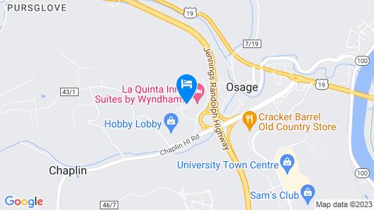 La Quinta Inn & Suites by Wyndham Morgantown Map