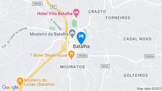 Hotel Batalha Map