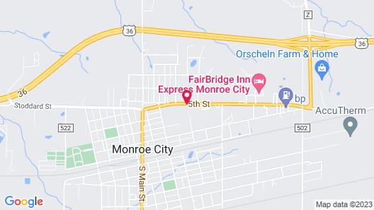 Motel 728 Map