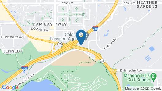 Radisson Hotel Denver - Aurora Map