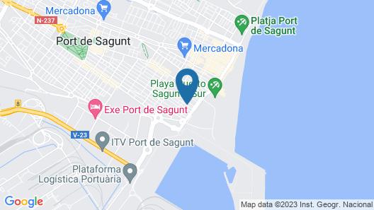 Apartamentos Mediterrania Marina Map