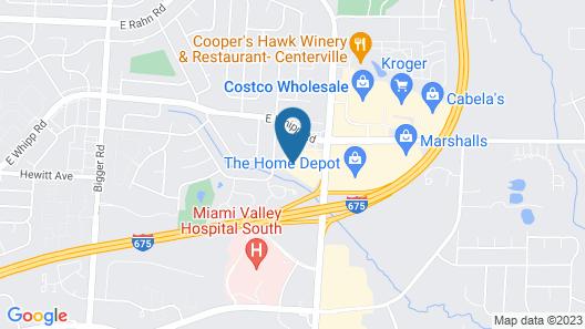 Holiday Inn Express Hotel & Suites Dayton-Centerville, an IHG Hotel Map