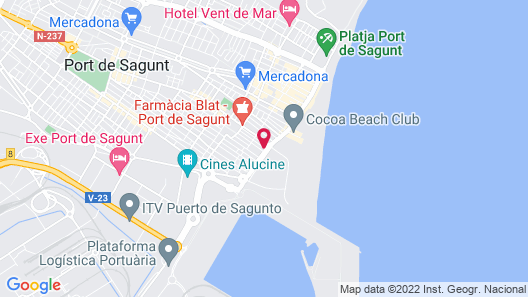 Apartamentos Mediterrania Moliner Map