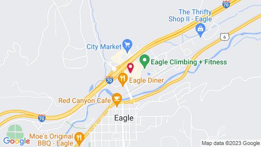 Best Western Plus Eagle Lodge & Suites Map