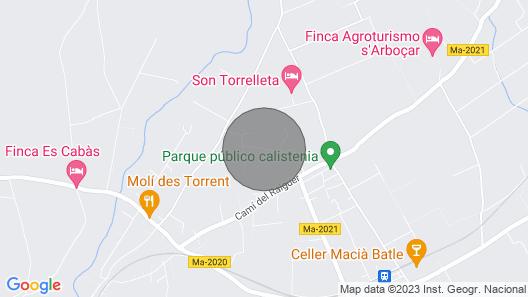 Ca's Xeremier Rural Cottage Map