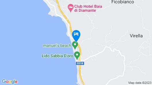 Hotel Poseidon Map