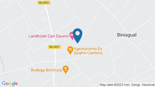 Weingut & Landhotel Can Davero Map