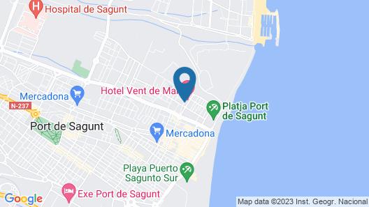 Hotel Vent de Mar Map