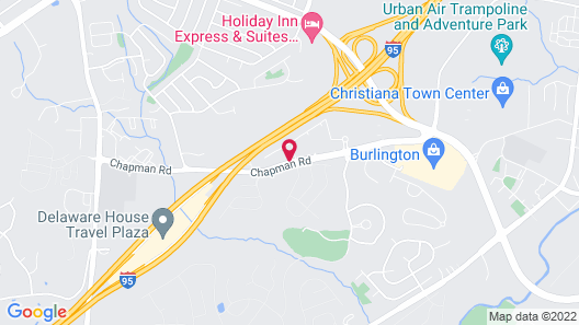 Sonesta ES Suites Wilmington - Newark Map