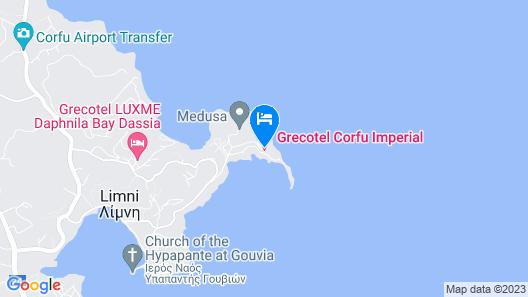 Corfu Imperial, Grecotel Exclusive Resort Map