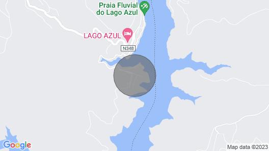 Villa Zezere Lago - Modern 4 Bedroom Villa - Walking Distance to Castelo de Bode Lake - Stunnin Map
