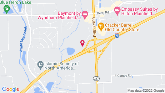 Wingate by Wyndham Indianapolis Airport Plainfield Map