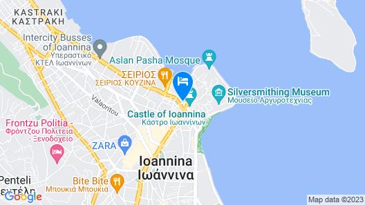 Hotel Antique Map