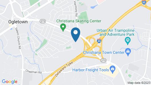 Comfort Inn & Suites Newark - Wilmington Map
