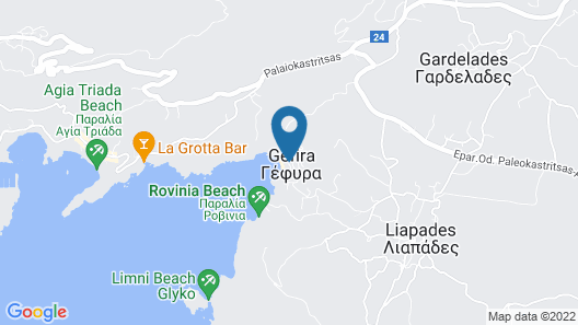 Blue Princess Beach Resort - All Inclusive Map