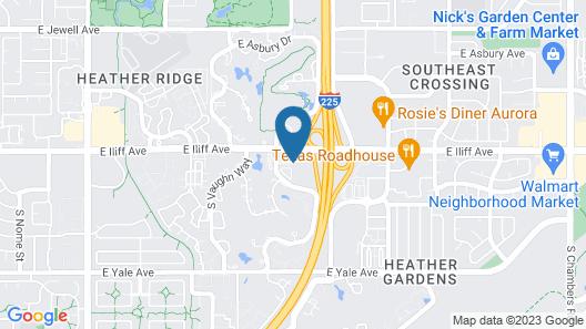 DoubleTree by Hilton Denver - Aurora Map