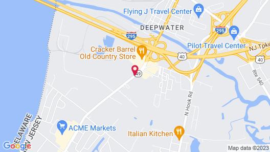 Super 8 by Wyndham Pennsville/Wilmington Map