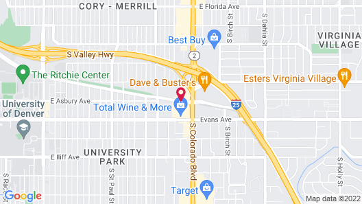 La Quinta Inn by Wyndham Denver Cherry Creek Map