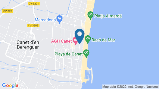 AGH Canet Map