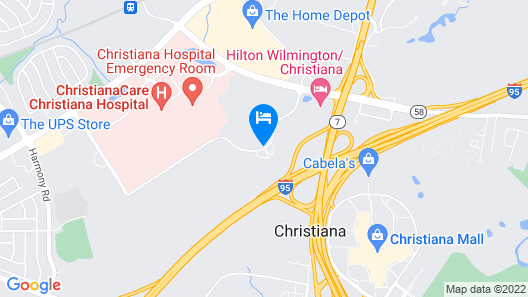 Extended Stay America - Newark - Christiana - Wilmington Map