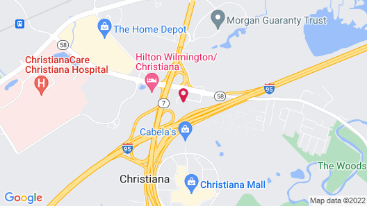 Sonesta Select Newark Map