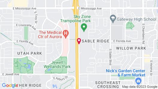 La Quinta Inn & Suites by Wyndham Denver Aurora Medical Map