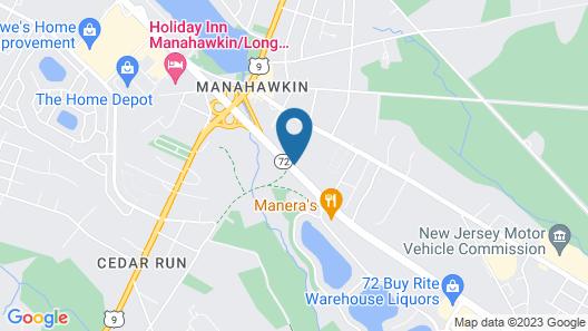 Holiday Inn Manahawkin/Long Beach Island Map