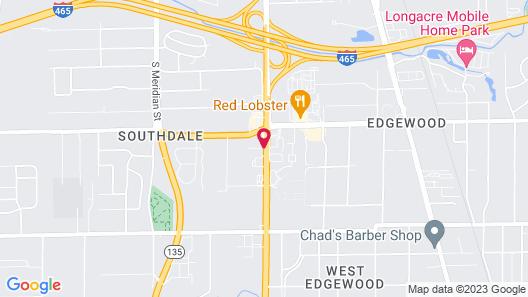Comfort Inn South Map