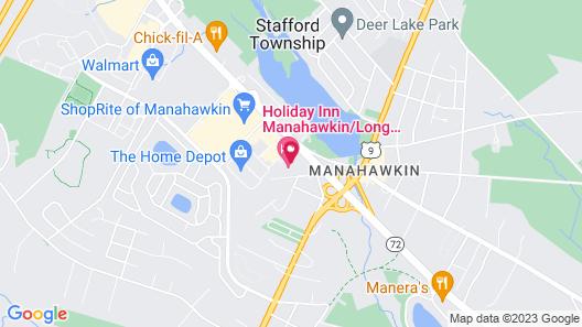 Holiday Inn Manahawkin/Long Beach Island, an IHG Hotel Map