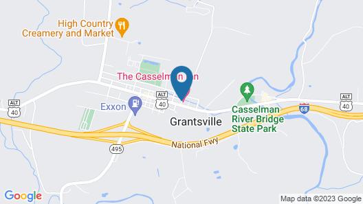 The Casselman Inn Map
