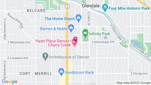 Hyatt Place Denver/Cherry Creek Map