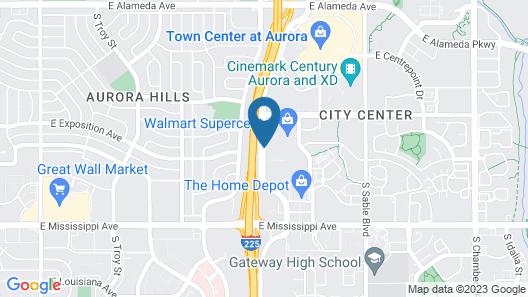 Best Western Plus Gateway Inn & Suites Map