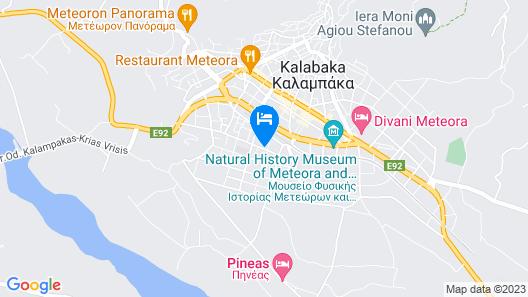 Guesthouse Monastiri Map