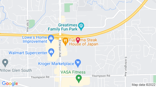 Holiday Inn Express Indianapolis - Southeast, an IHG Hotel Map