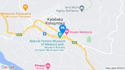 Alexiou Hotel Map